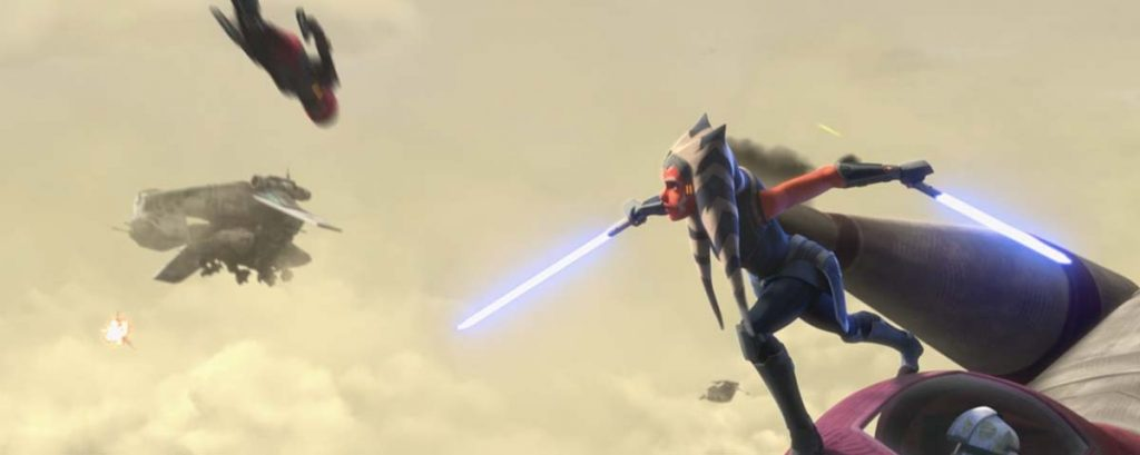 Ahsoka in the Air