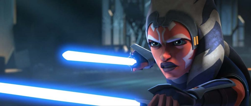 Ahsoka ready to fight