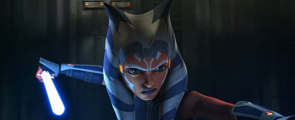 Ahsoka seeing Darth Maul