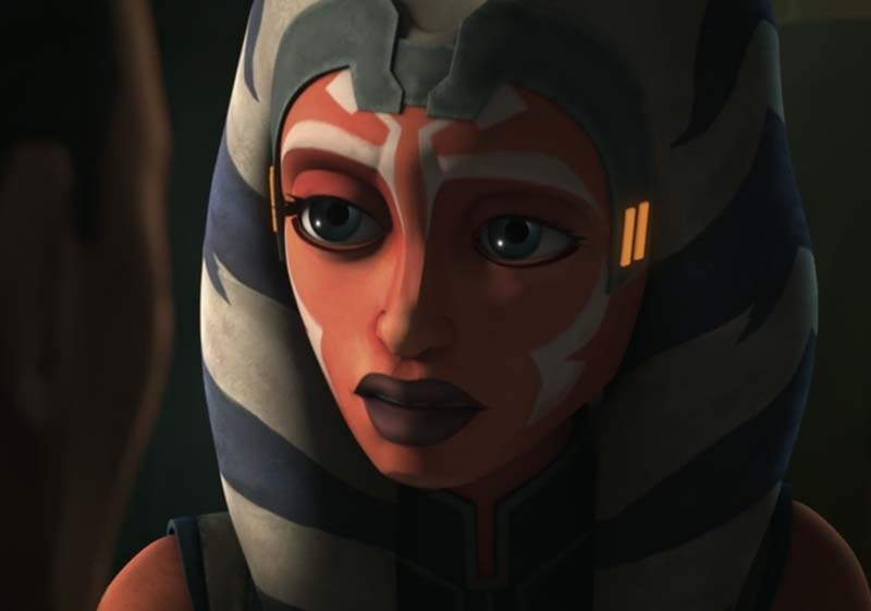 Ahsoka hearing the story