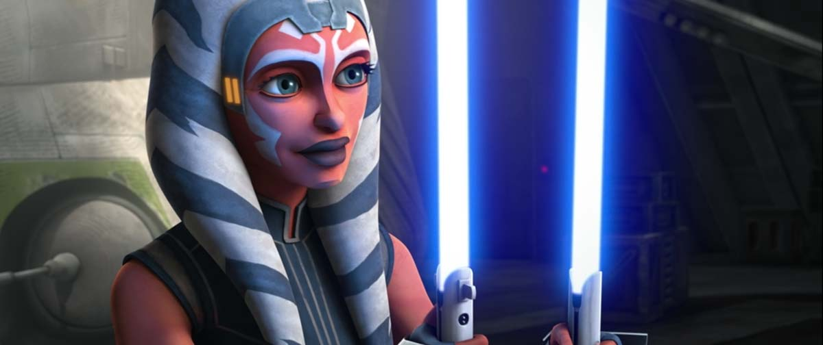 Ahsoka gets lightsabers back