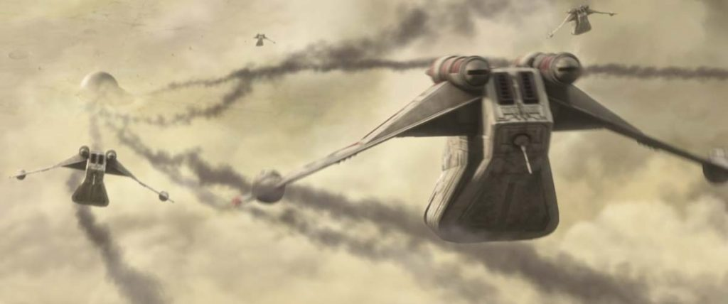 Mandalor Air battle