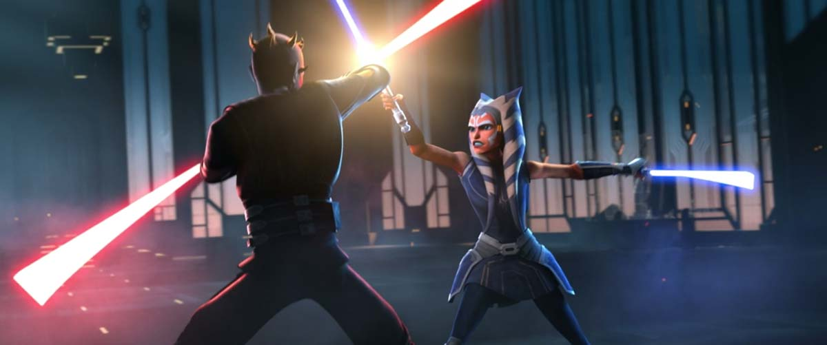 Darth Maul vs Ahsoka