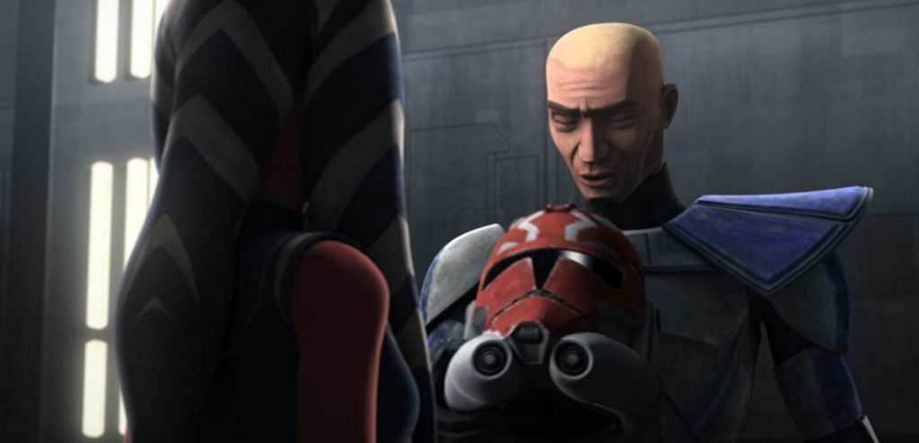 Commander Rex and Ahsoka